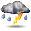 Predpoveď: Precipitation at times, very unsettled